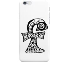 "Hipster Letter ""F"" Zentangle iPhone Case/Skin"