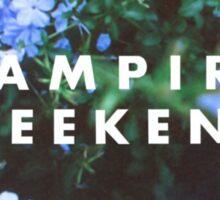 vampire weekend floral design Sticker