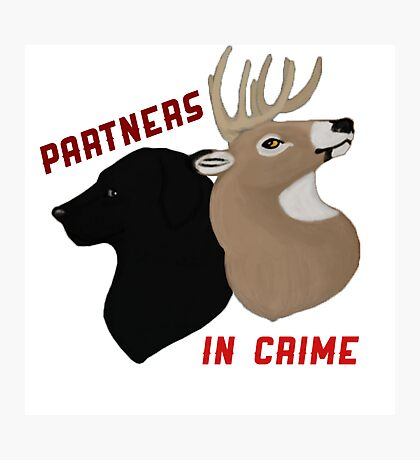 Partners in Crime Photographic Print