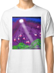 Flowers of the Night by Roger Pickar, Goofy America Classic T-Shirt