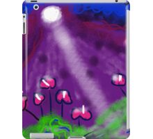 Flowers of the Night by Roger Pickar, Goofy America iPad Case/Skin