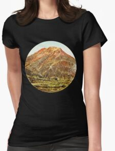Circle Canyon  Womens Fitted T-Shirt