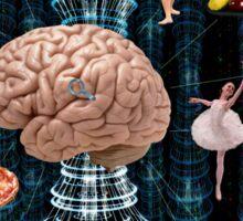 Brain games - War of Thought Sticker