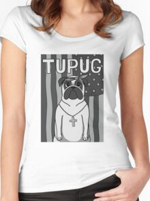 Tupug Shakur Women's Fitted Scoop T-Shirt