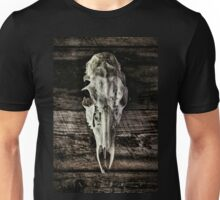In the Woodshed Unisex T-Shirt