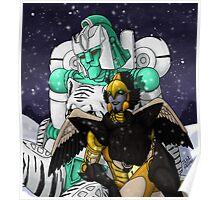 Tigatron and Airazor Poster