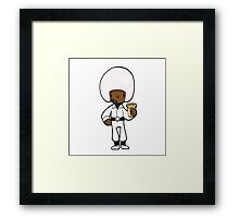 I've lost the bleeps, I've lost the sweeps, and I've lost the creeps. Framed Print