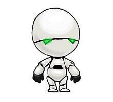 Freeze? I'm a robot. I'm not a refrigerator. by Bantambb