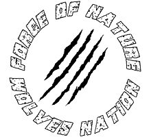 Wolves Nation - Force Of Nature Photographic Print
