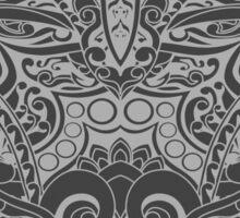 Balinese Abstract Art Sticker