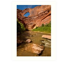 Stevens Arch - Escalante River - Grand Staircase - Utah Art Print