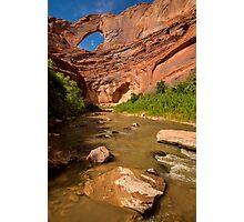 Stevens Arch - Escalante River - Grand Staircase - Utah Photographic Print
