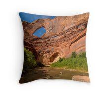 Stevens Arch - Escalante River - Grand Staircase - Utah Throw Pillow