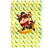 Banana teemo Poster