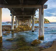 Under the Bridge to Bare Island by pcbermagui