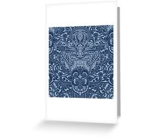 Balinese Abstract Art3 Greeting Card