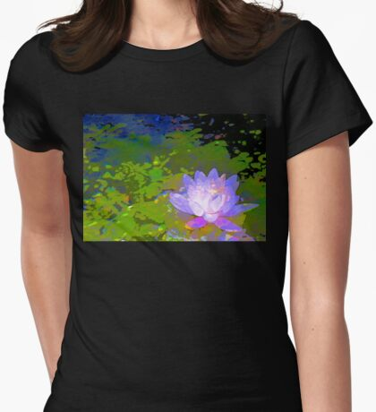 Pond Lily 29 Womens Fitted T-Shirt