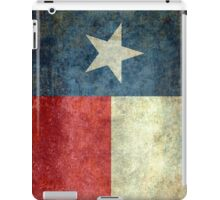 "The ""Lone Star Flag"" of The Lone State Texas iPad Case/Skin"
