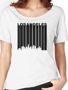 Retro Los Angeles Cityscape Women's Relaxed Fit T-Shirt