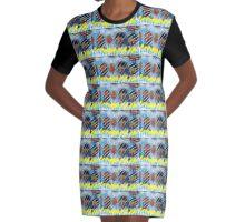 Golden Ridge Graphic T-Shirt Dress