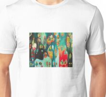 BanksAbstractions Unisex T-Shirt