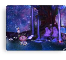 Water Fairy and Fantasy world Canvas Print