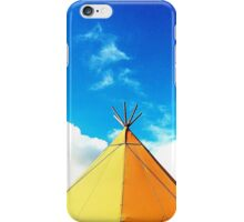 Tee Pee in the Sky iPhone Case/Skin