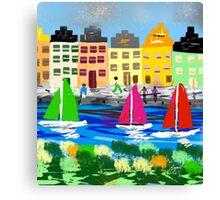 Copenhagen by Roger Pickar, Goofy America Canvas Print