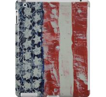 Abstract American Flag iPad Case/Skin