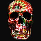 Painted Skull by sastrod8