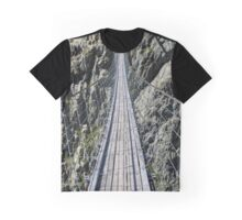Triftsee Suspension Bridge - Gadmen - Switzerland Graphic T-Shirt