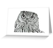 Twit-twoo i'm looking at you Greeting Card