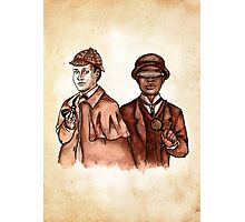 Data Holmes and Geordi Watson Photographic Print