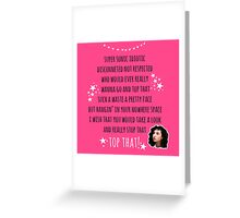 Top That with Polly Greeting Card