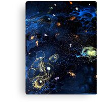 Abstract Fluid Acrylic Universe Painting HELIX Holly Anderson Contemporary Art Collective Canvas Print