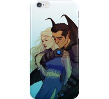 Morrigan and Azriel iPhone Case/Skin