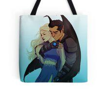 Morrigan and Azriel Tote Bag