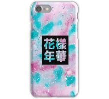 Pink and Blue HYYH iPhone Case/Skin
