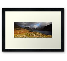 Wastwater Sun Framed Print
