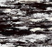 Large, Abstract art, Contemporary art, Original abstract painting textured Painting BLACK AND WHITE SKYSCAPE by hollyanderson