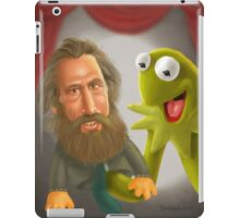 Jim Henson caricature iPad Case/Skin