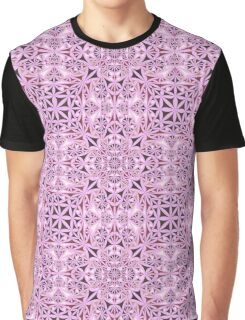 Pink ornament wallpaper Graphic T-Shirt