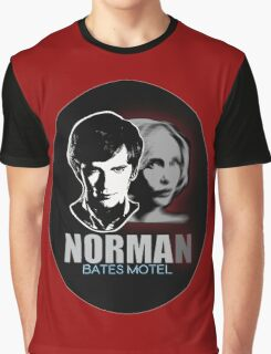 Norma-Norman 2 Bates Motel Graphic T-Shirt