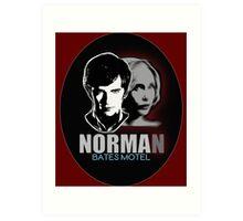 Norma-Norman 2 Bates Motel Art Print