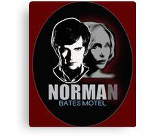 Norma-Norman 2 Bates Motel Canvas Print