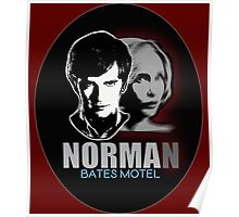 Norma-Norman 2 Bates Motel Poster