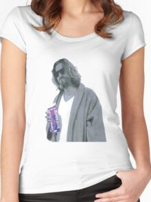 69 cent.  Jeffrey Lebowski shopping for Half & Half Women's Fitted Scoop T-Shirt