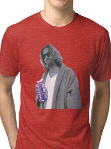 69 cent.  Jeffrey Lebowski shopping for Half & Half Tri-blend T-Shirt