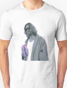 69 cent.  Jeffrey Lebowski shopping for Half & Half Unisex T-Shirt