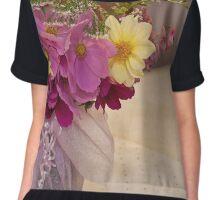 Garden Fresh Bouquet Chiffon Top